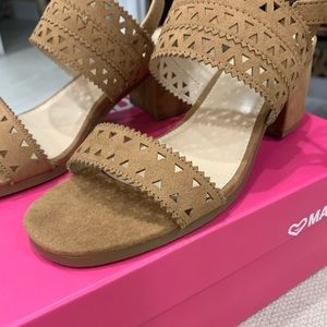 Madeline sandals New in Box